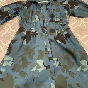 Gap camouflage Dress